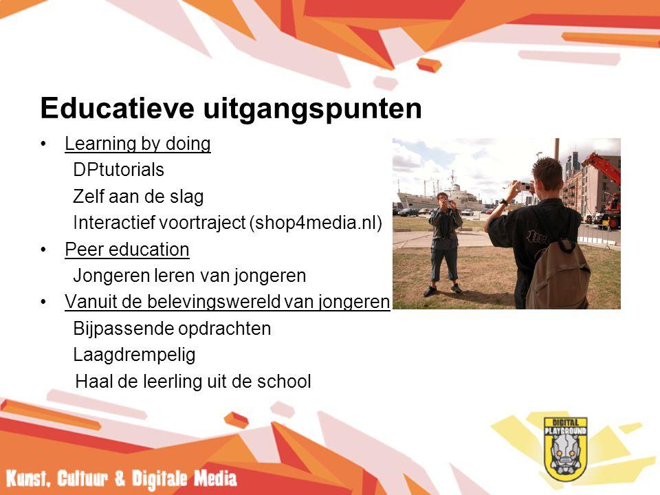 Educatieve uitgangspunten