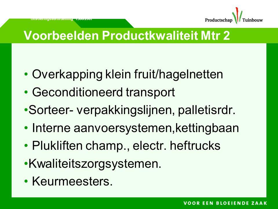 Voorbeelden Productkwaliteit Mtr 2