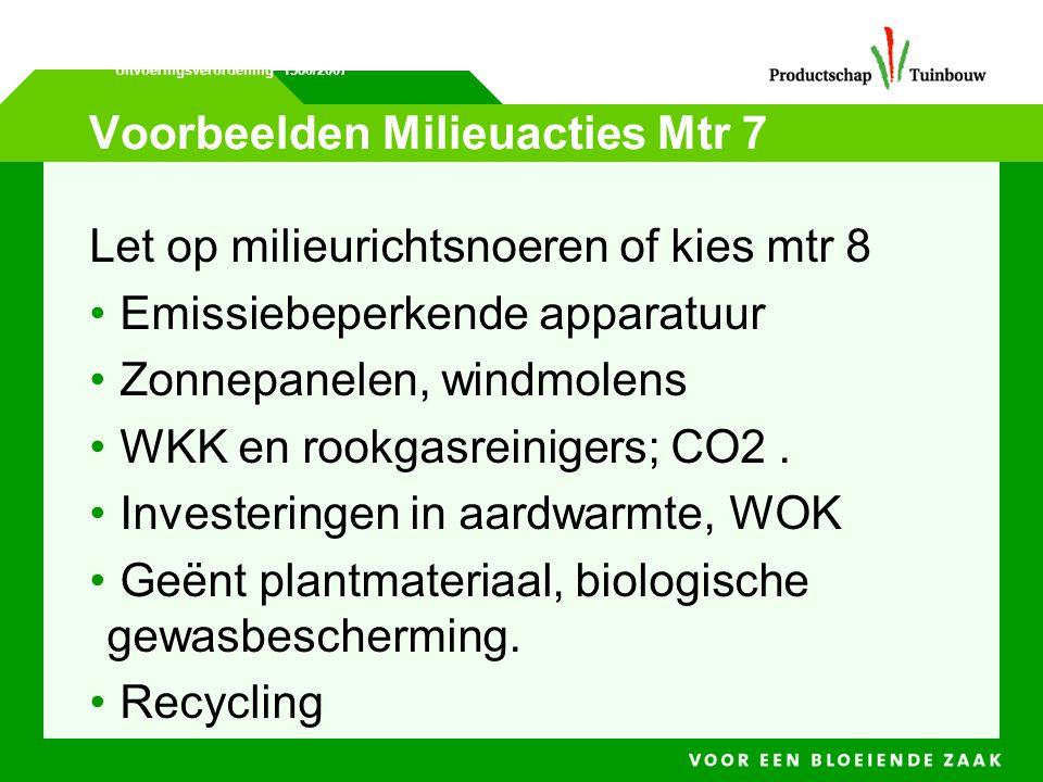 Voorbeelden Milieuacties Mtr 7