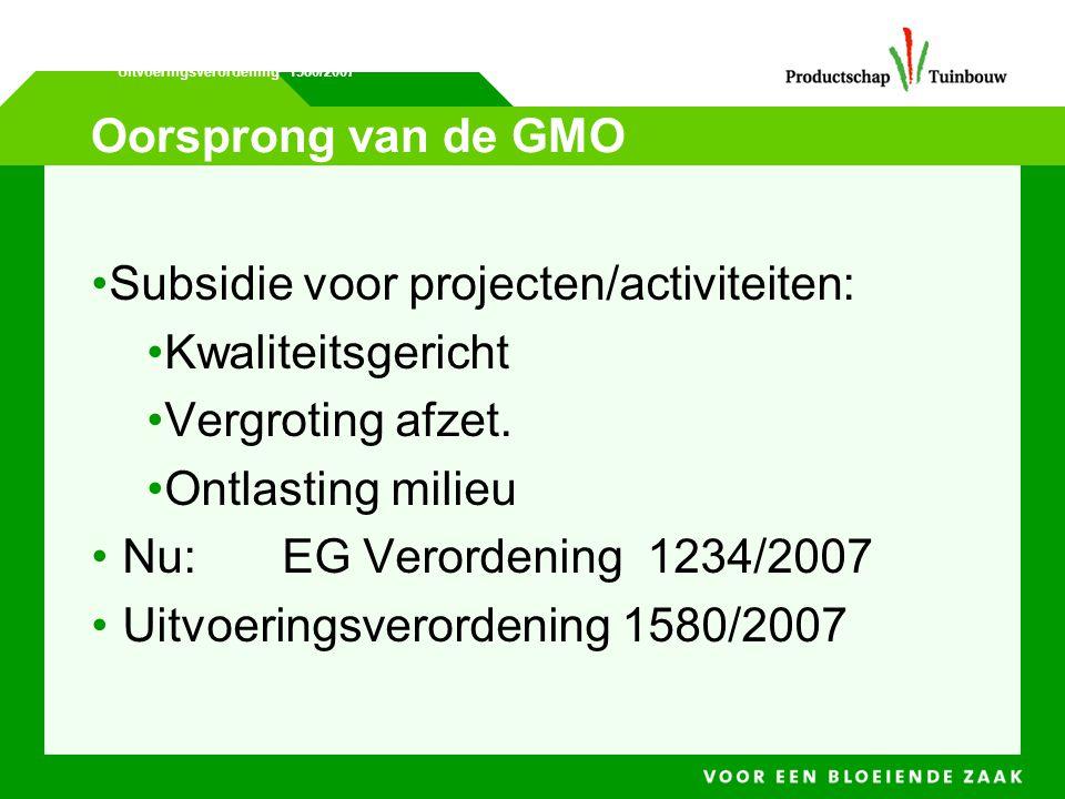 Subsidie voor projecten/activiteiten: Kwaliteitsgericht