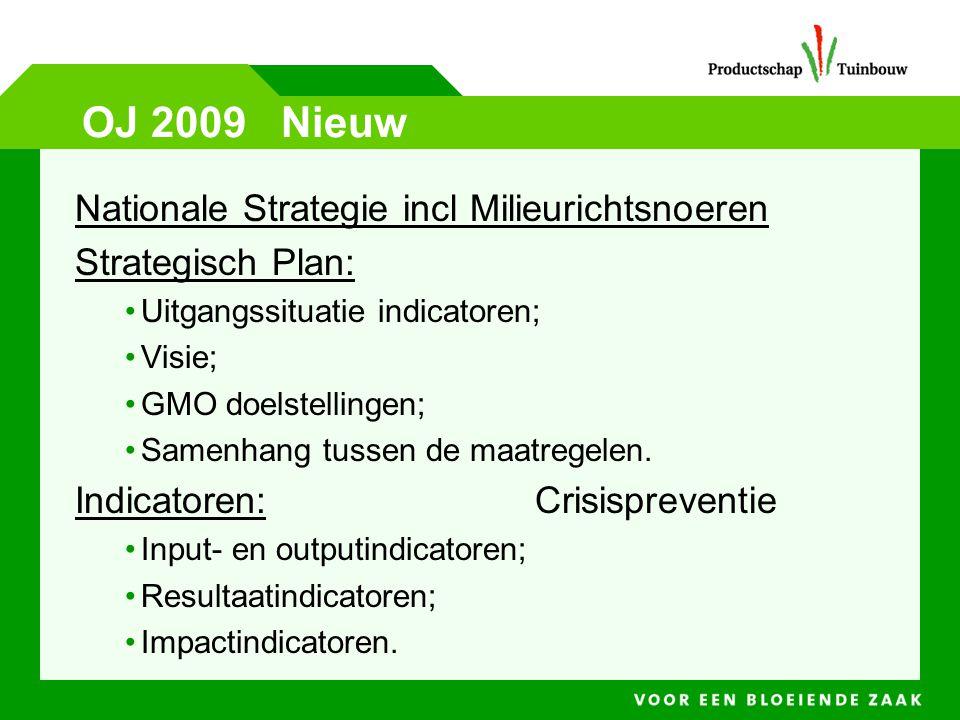 OJ 2009 Nieuw Nationale Strategie incl Milieurichtsnoeren