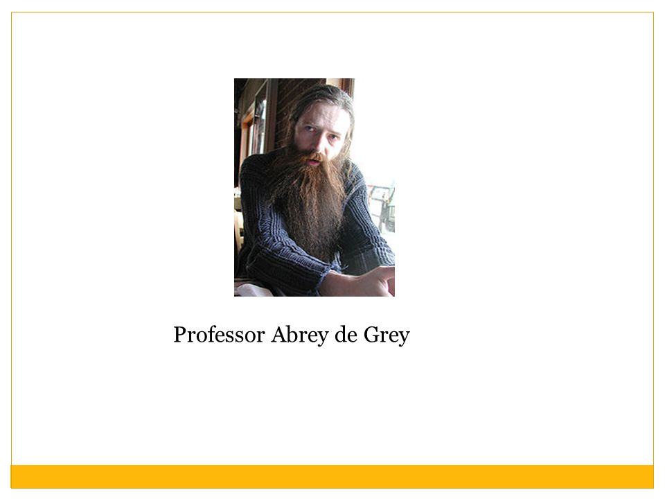 Professor Abrey de Grey