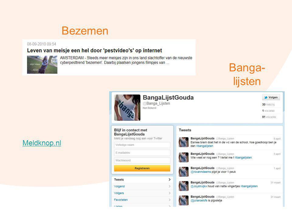 Bezemen Banga- lijsten Meldknop.nl 45