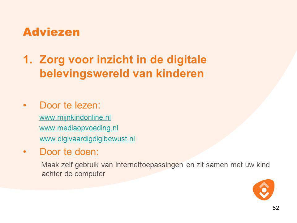 Zorg voor inzicht in de digitale belevingswereld van kinderen