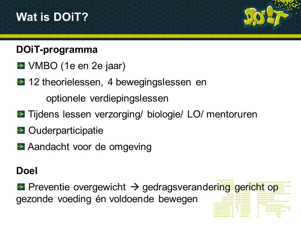 Wat is DOiT DOiT-programma VMBO (1e en 2e jaar)