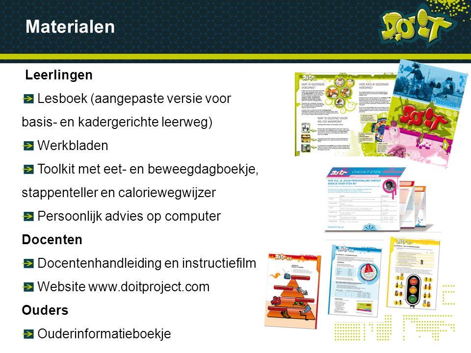 Materialen Leerlingen Lesboek (aangepaste versie voor