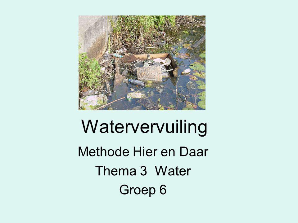 Methode Hier en Daar Thema 3 Water Groep 6