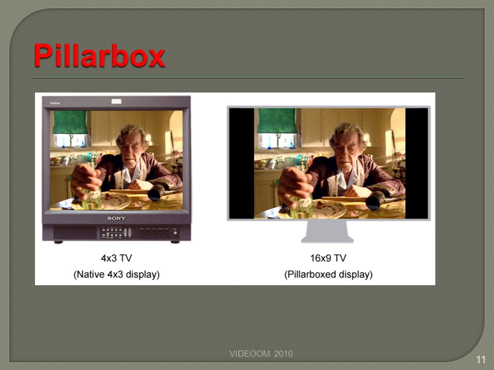 Pillarbox VIDEOOM 2010
