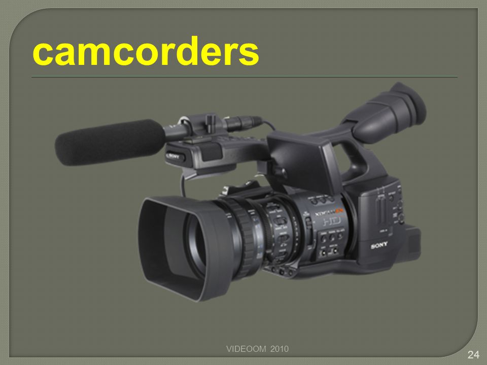 camcorders VIDEOOM 2010