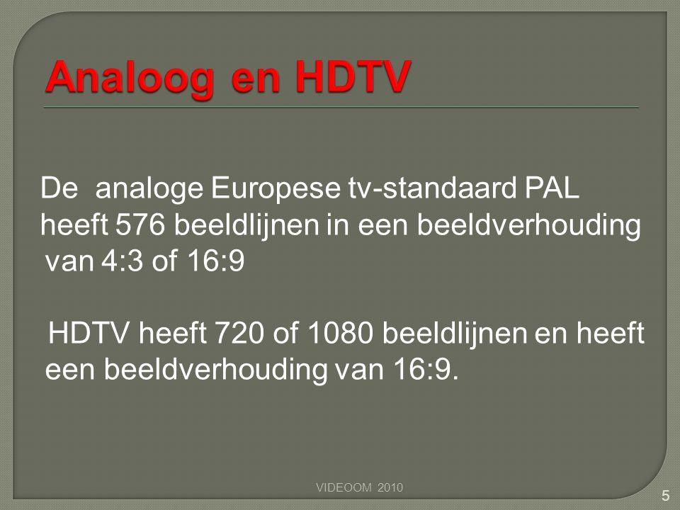 Analoog en HDTV