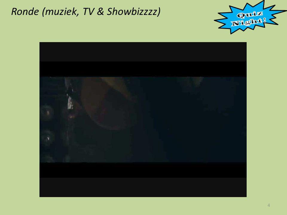 Ronde (muziek, TV & Showbizzzz)