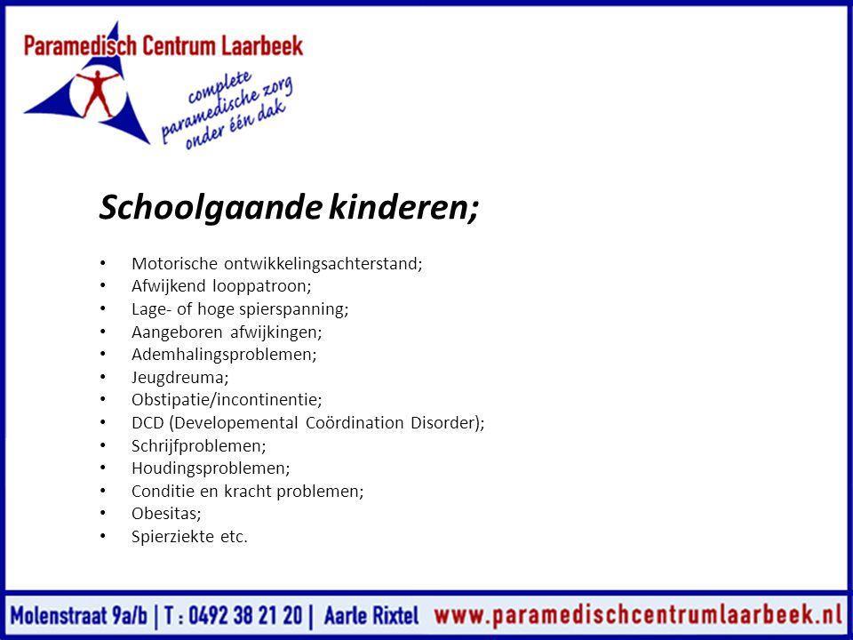 Schoolgaande kinderen;