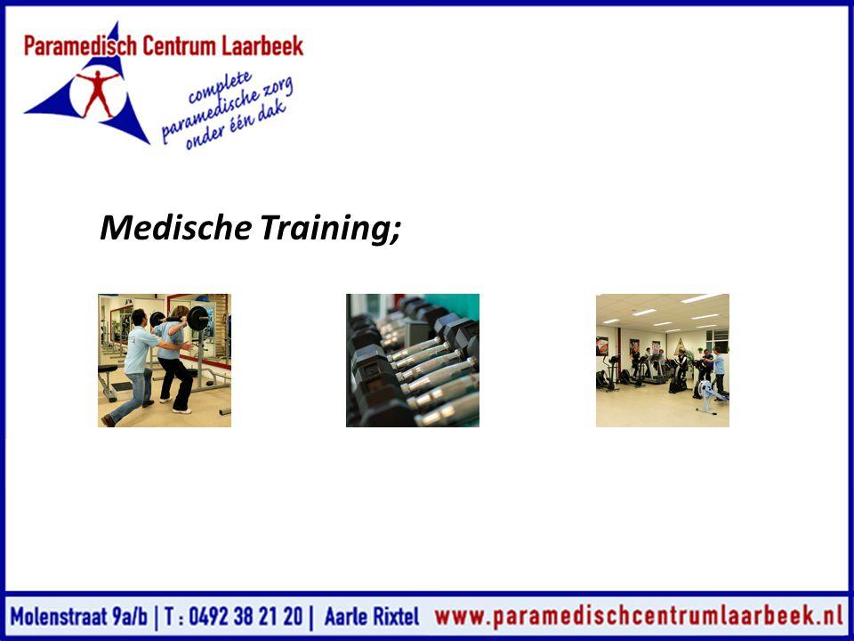 Medische Training;