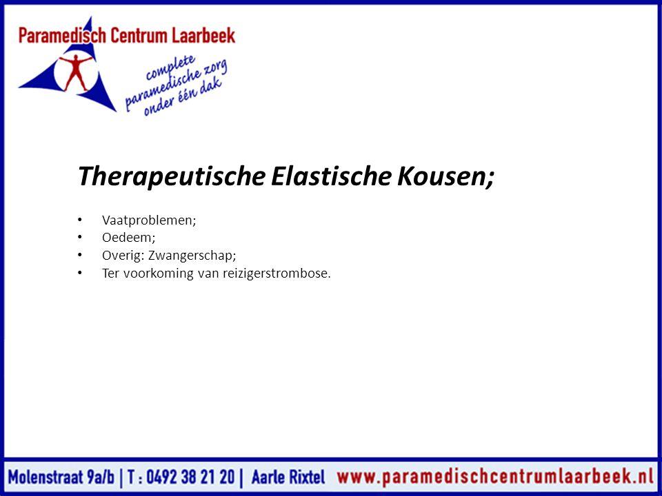 Therapeutische Elastische Kousen;