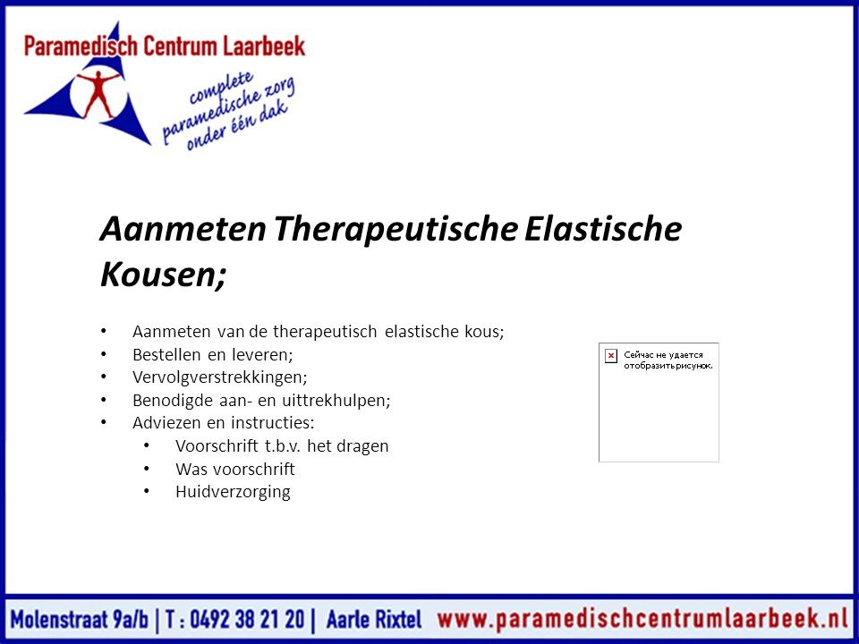 Aanmeten Therapeutische Elastische Kousen;