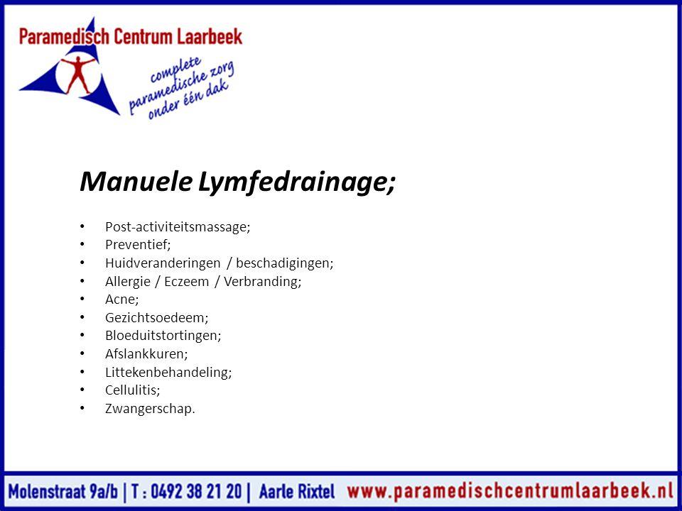 Manuele Lymfedrainage;