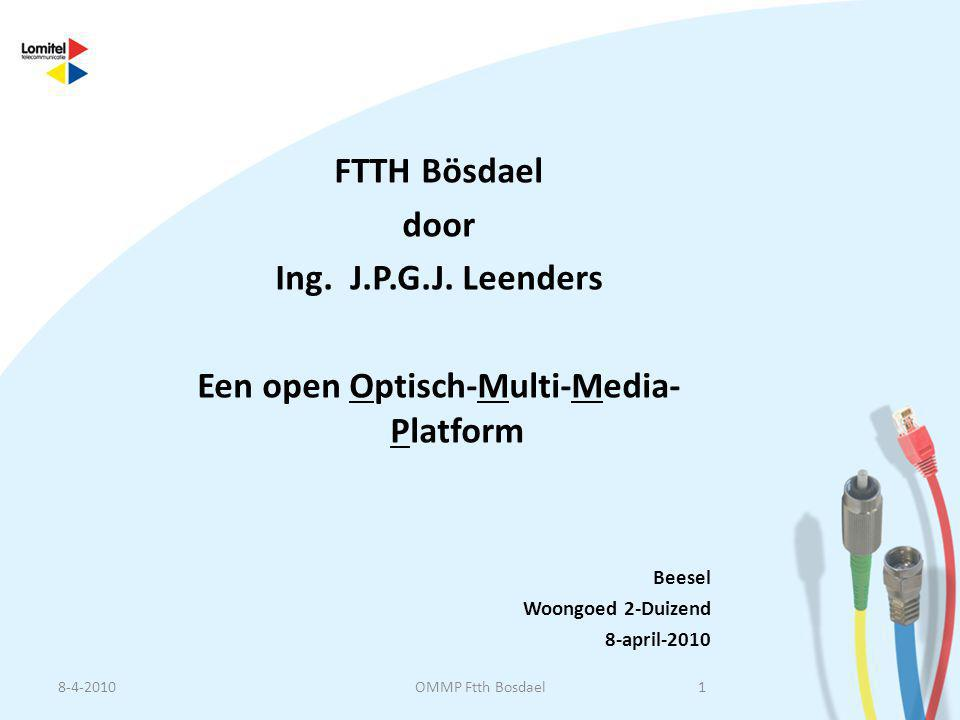 Een open Optisch-Multi-Media-Platform