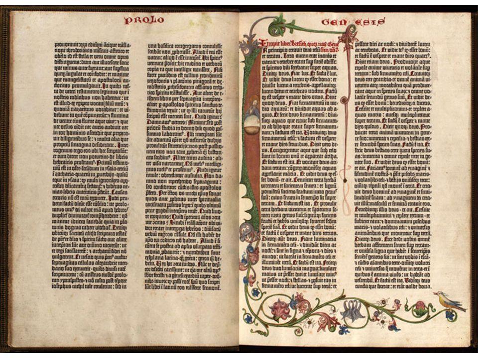 Handgeschreven bijbels