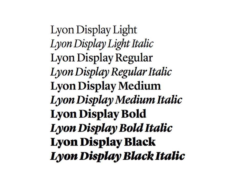 Digitale tijdperk leverde een enorme hoeveelheid 'nieuwe' fonts op