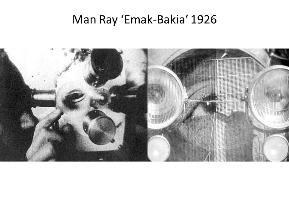 Man Ray 'Emak-Bakia' 1926