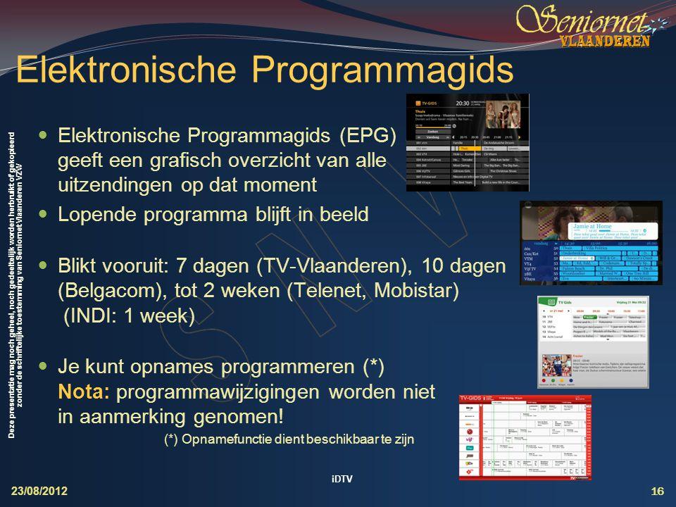 Elektronische Programmagids