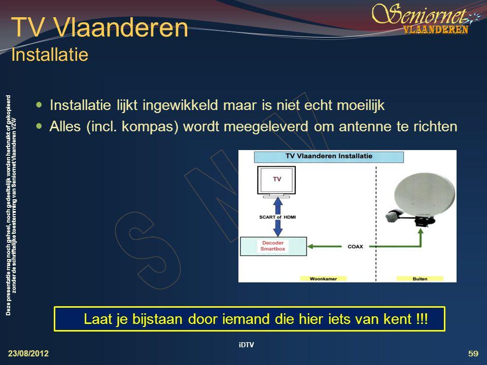 TV Vlaanderen Installatie