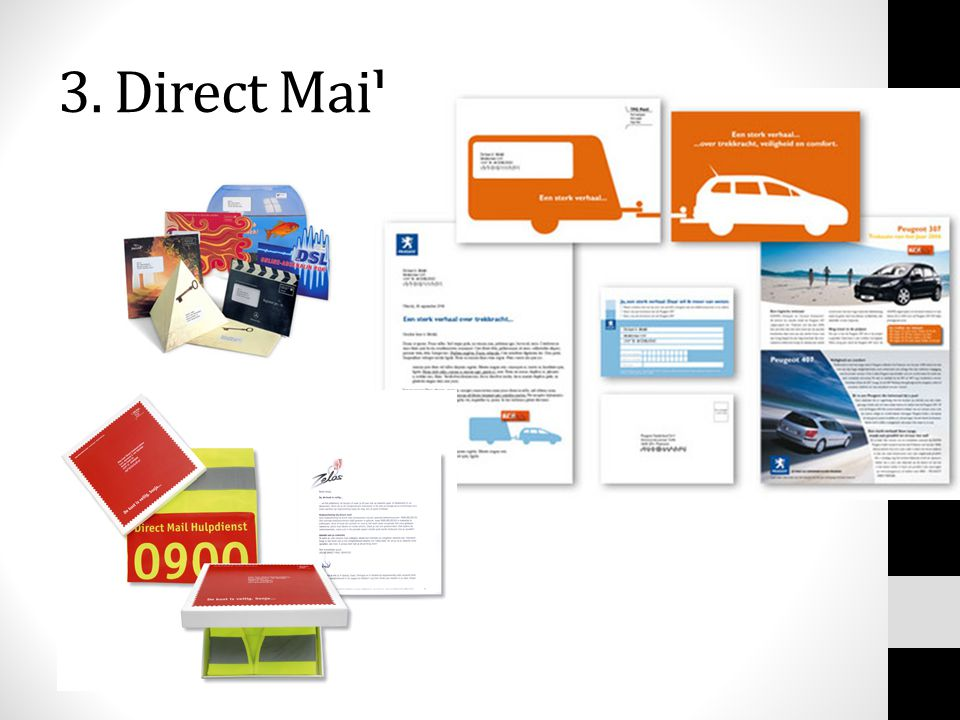 3. Direct Mail
