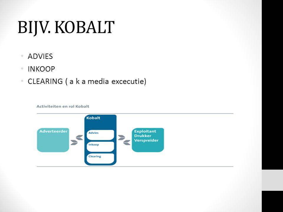 BIJV. KOBALT ADVIES INKOOP CLEARING ( a k a media excecutie)