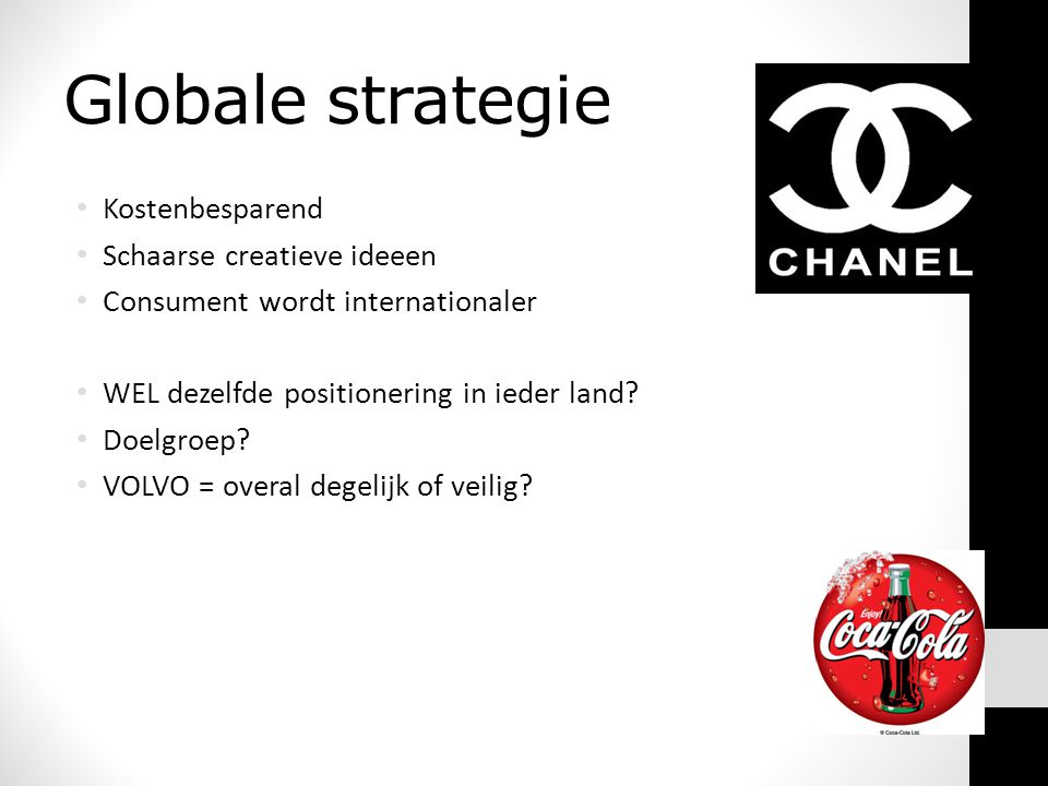 Globale strategie Kostenbesparend Schaarse creatieve ideeen