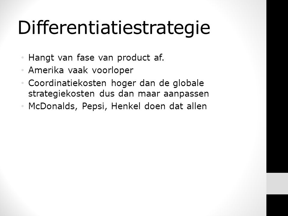 Differentiatiestrategie