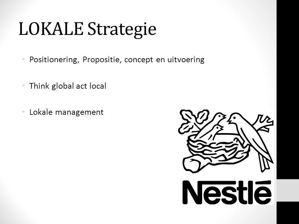 LOKALE Strategie Positionering, Propositie, concept en uitvoering