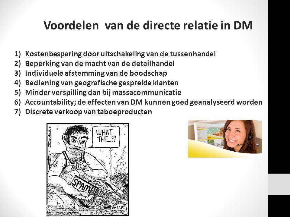 Voordelen van de directe relatie in DM