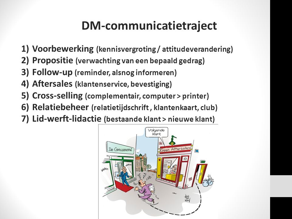 DM-communicatietraject