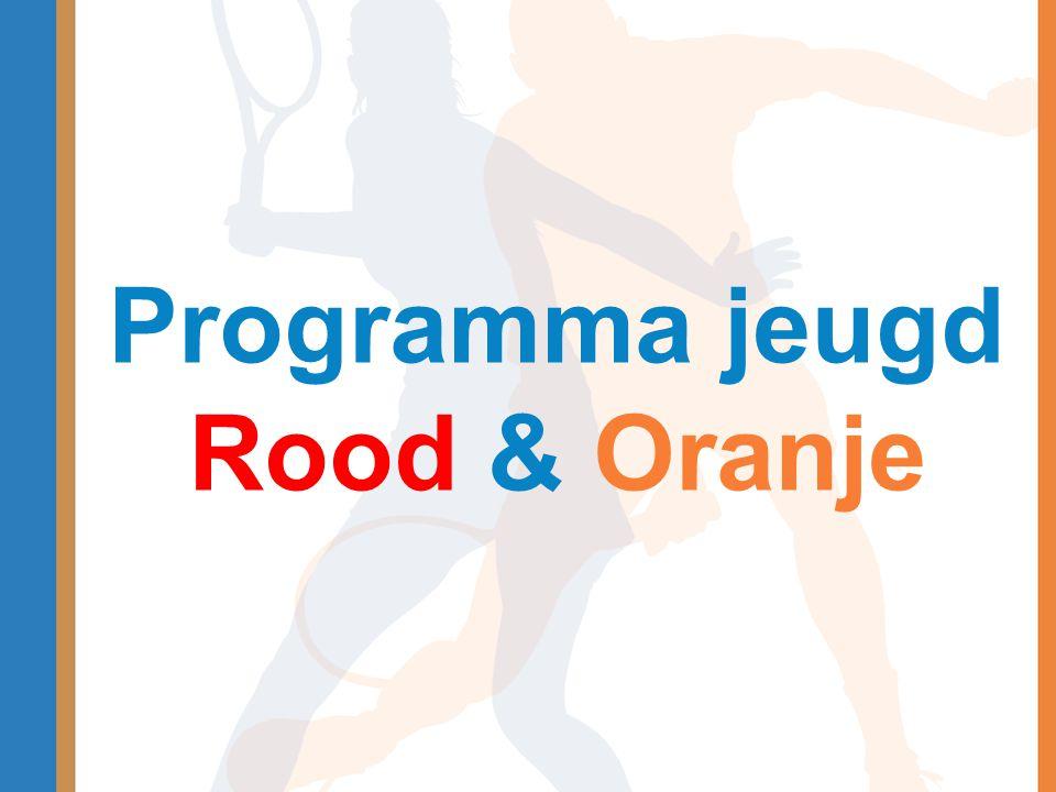 Programma jeugd Rood & Oranje