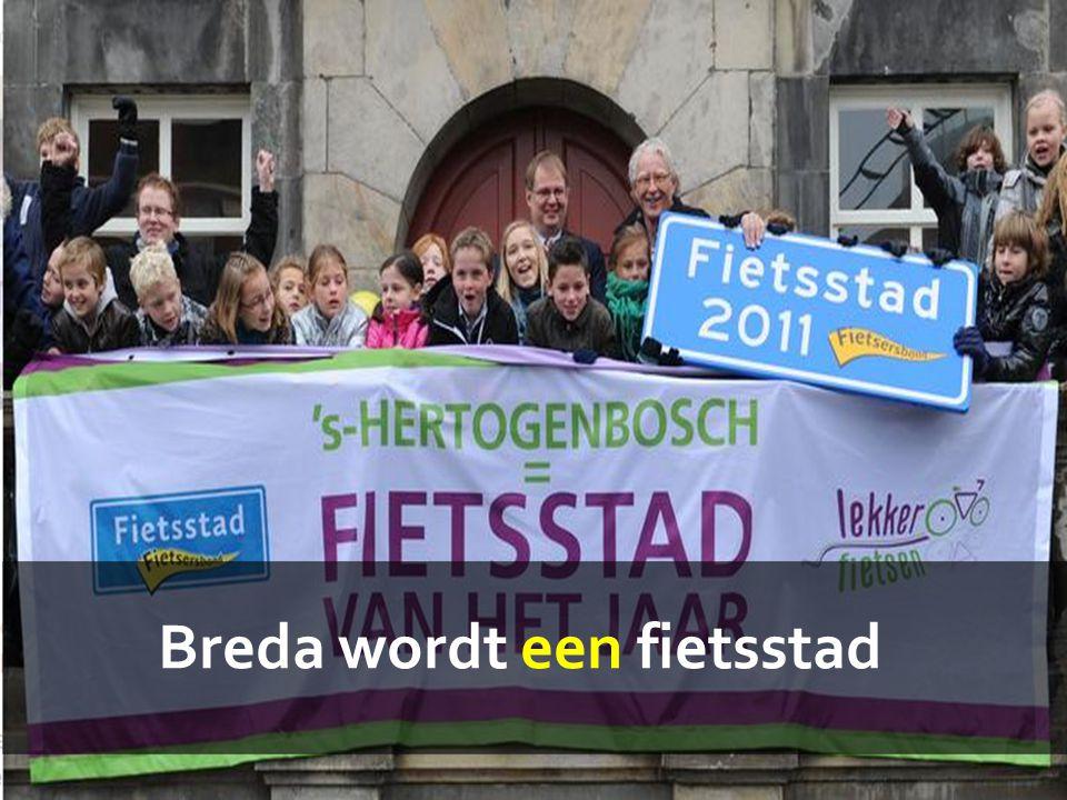 Breda wordt een fietsstad