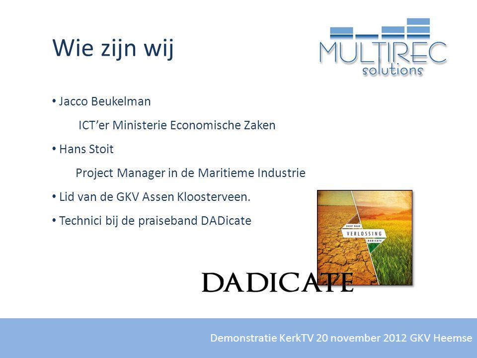Wie zijn wij Jacco Beukelman ICT'er Ministerie Economische Zaken