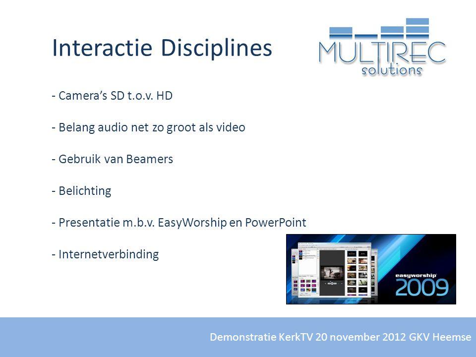 Interactie Disciplines