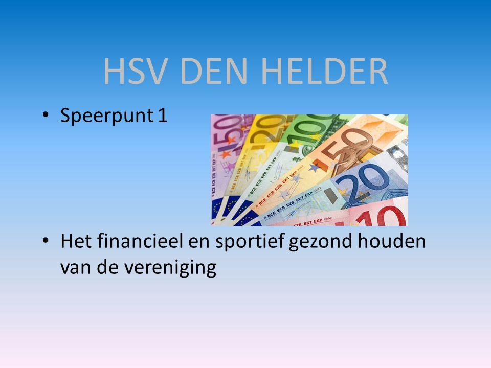 HSV DEN HELDER Speerpunt 1