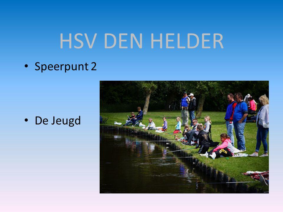 HSV DEN HELDER Speerpunt 2 De Jeugd