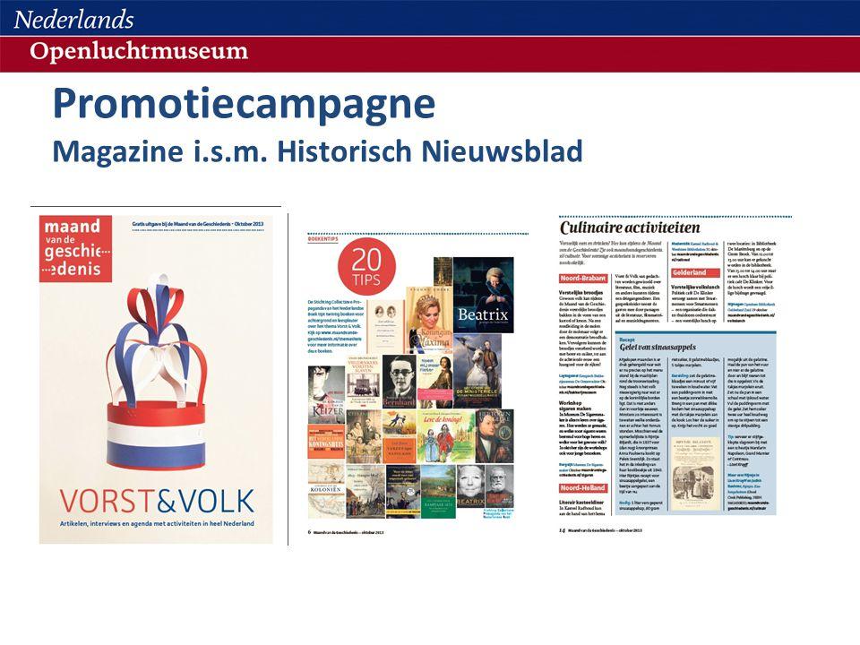 Promotiecampagne Magazine i.s.m. Historisch Nieuwsblad