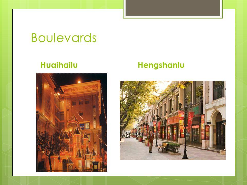 Boulevards Huaihailu Hengshanlu