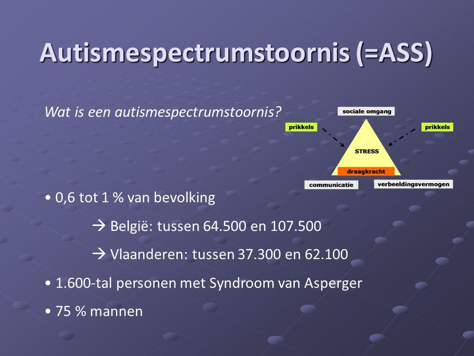 Autismespectrumstoornis (=ASS)