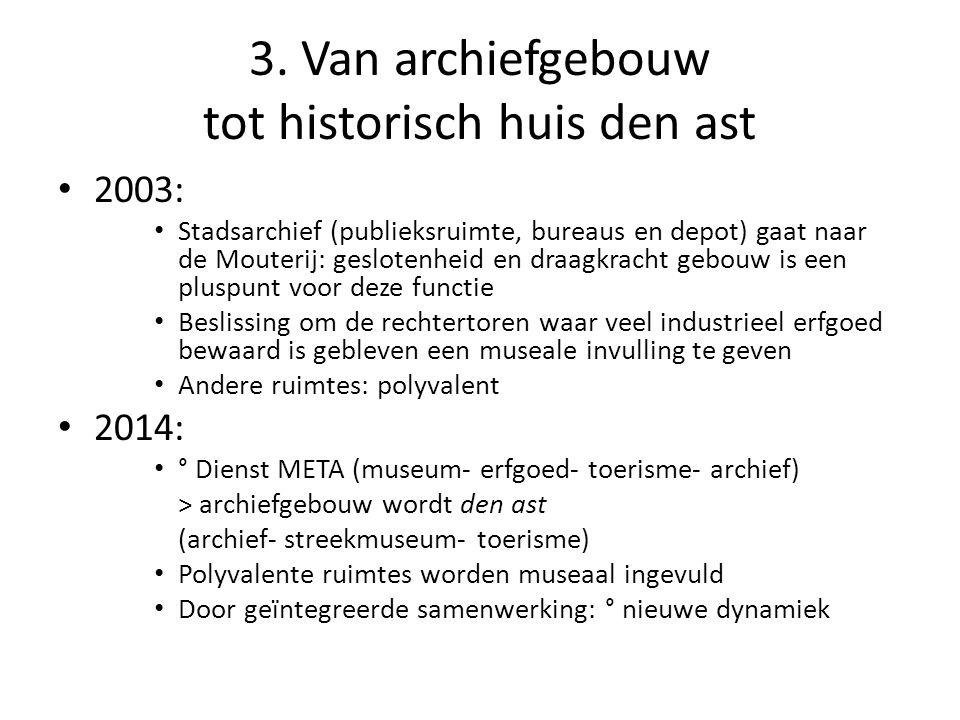 3. Van archiefgebouw tot historisch huis den ast