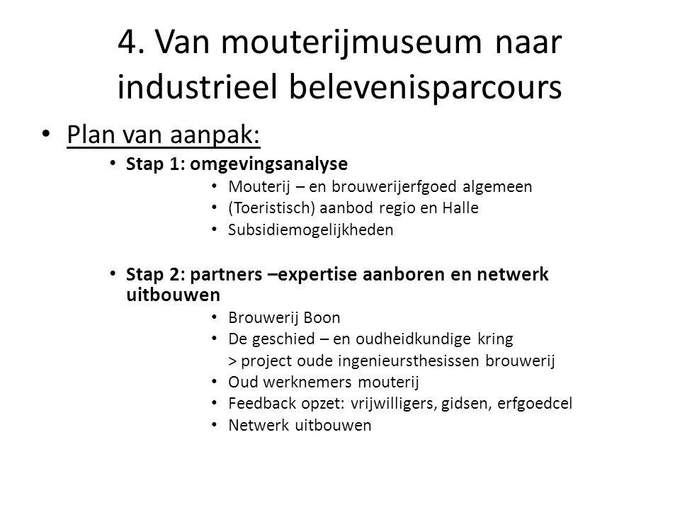 4. Van mouterijmuseum naar industrieel belevenisparcours