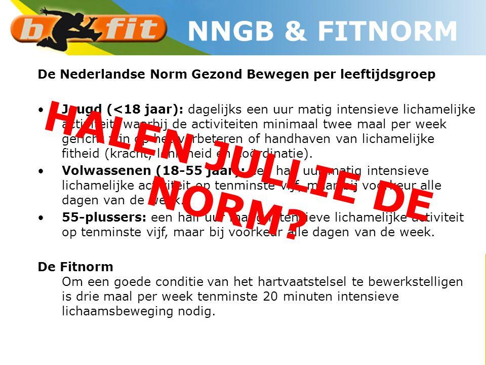 HALEN JULLIE DE NORM NNGB & FITNORM