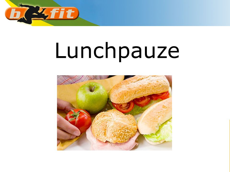 Lunchpauze