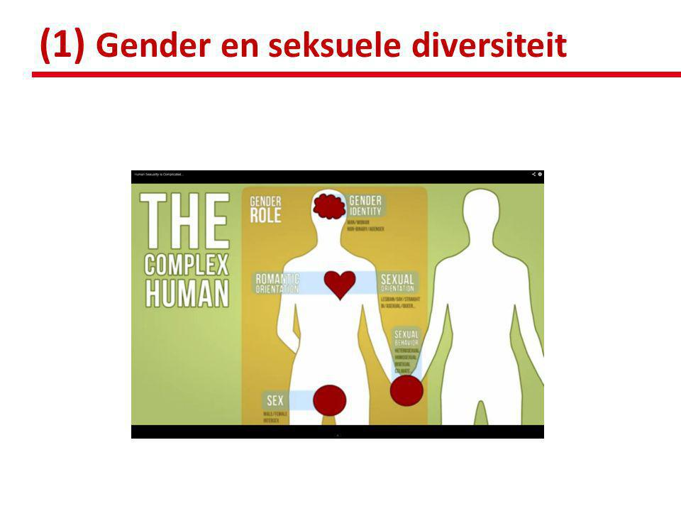 (1) Gender en seksuele diversiteit