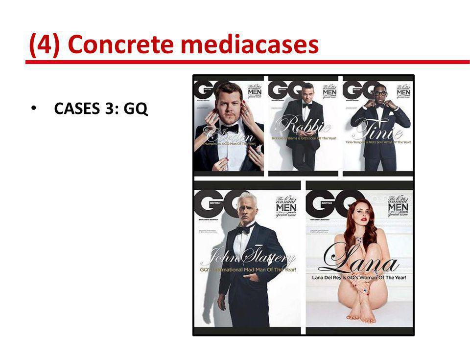 (4) Concrete mediacases