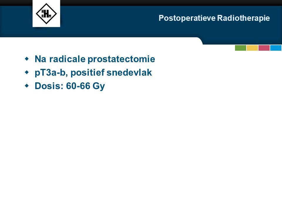 Postoperatieve Radiotherapie