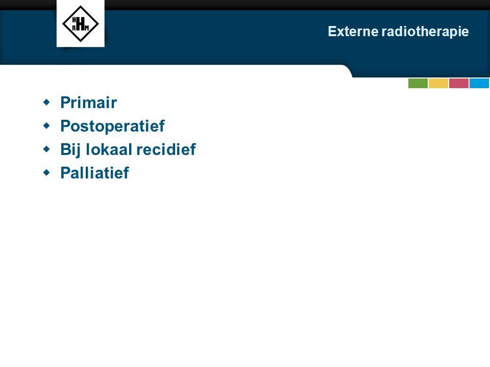 Externe radiotherapie